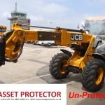 JCB Salt handler boom arm corrosion a un protected example 1