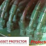 JCB Salt handler valve block protected