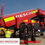 Gatwick A380 Fire truck example protected