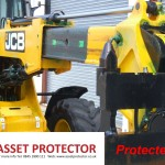 JCB Salt handler boom arm corrosion protected example